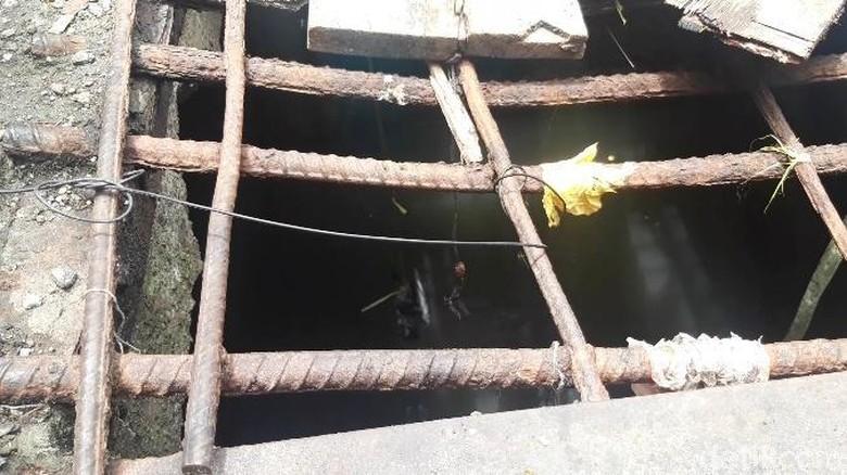 Muncul di Gorong-gorong 2 Buaya Dekat Amplaz