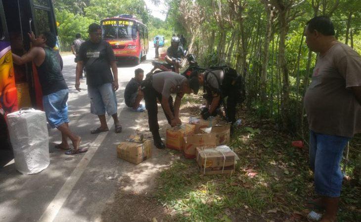 Polres  intensifkan razia miras di Ambon