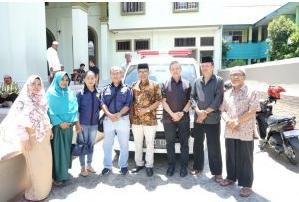 Peduli Kemanusiaan, Harita Nickel Sumbang Ambulans Untuk Masyarakat