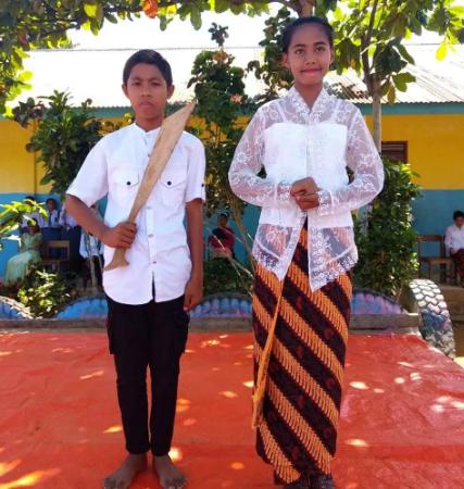 Memperingati Hari Pahlawan, Harita Nickel Division Menggelar Lomba di Desa Kawasi