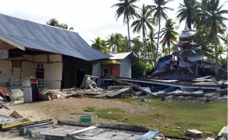 Pasca Gempa Halsel, BNPB Siap Bangun Rumah Warga