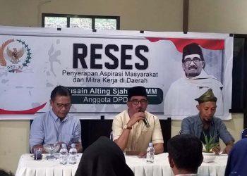 Anggota DPD serap aspirasi rakyat