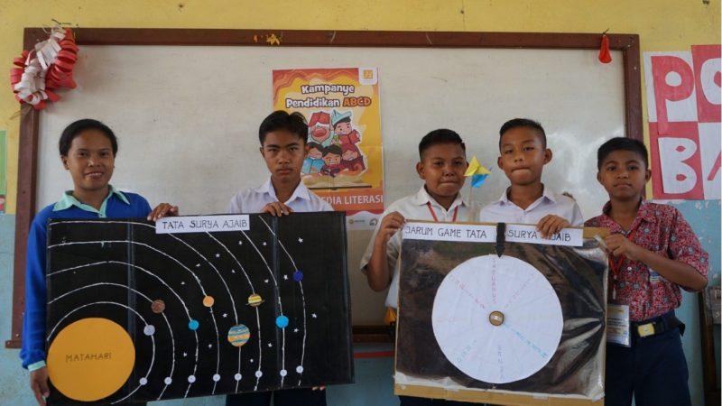 Harita Nickel mengadakan kelas gembira bagi siswa kawasi