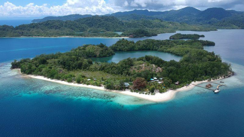 pesona pulau pogo-pogo
