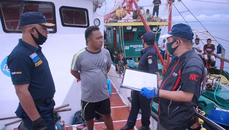 DKP Malut Pergoki Tiga Kapal Asal Sulut di Perairan Halmahera Utara
