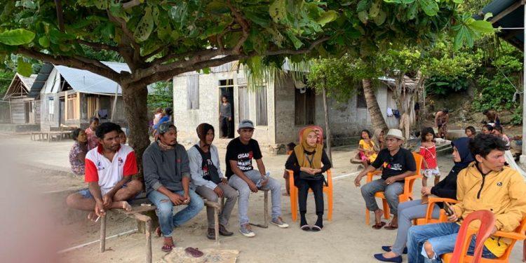 Asman Jamel Lalukan Supervisi di Kecamatan Bacan Barat Halmahera Selatan