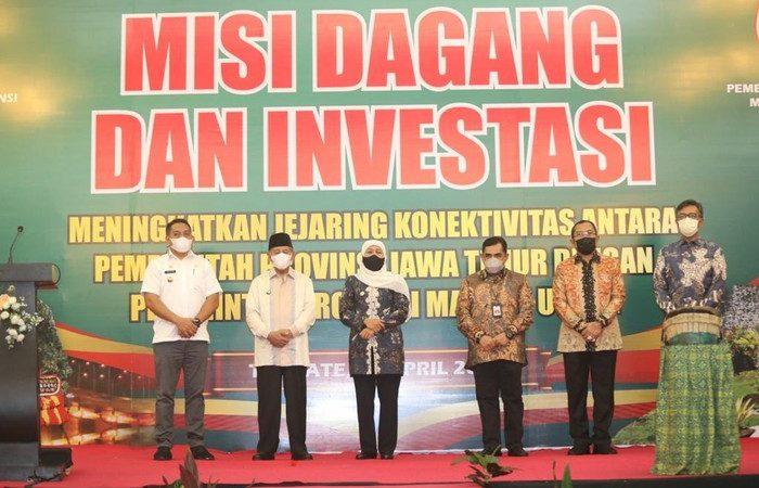 Jatim Gelar Misi Dagang di Malut, Total Transaksi Capai Rp 500 Miliar